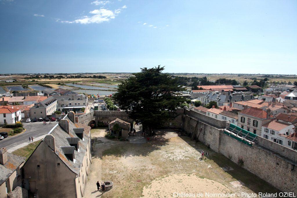 Photo de Noirmoutier vue du Château