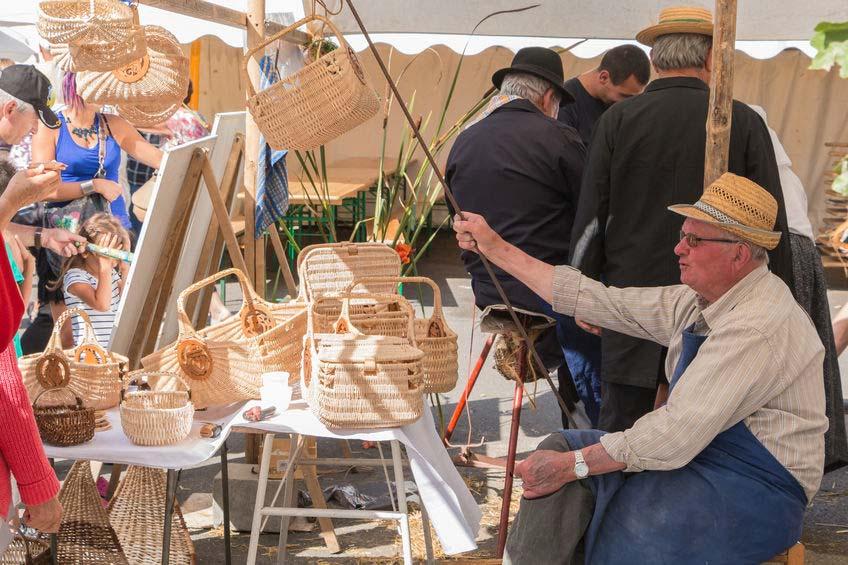 Photo la foire des minées à Challans Vendée
