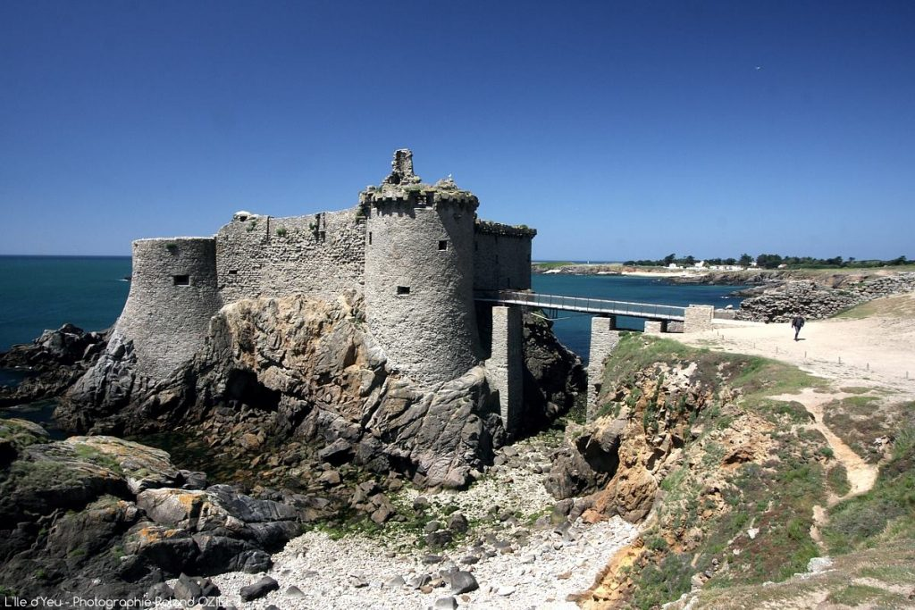 Photo Ile d\'Yeu Vieux Chateau côte sauvage