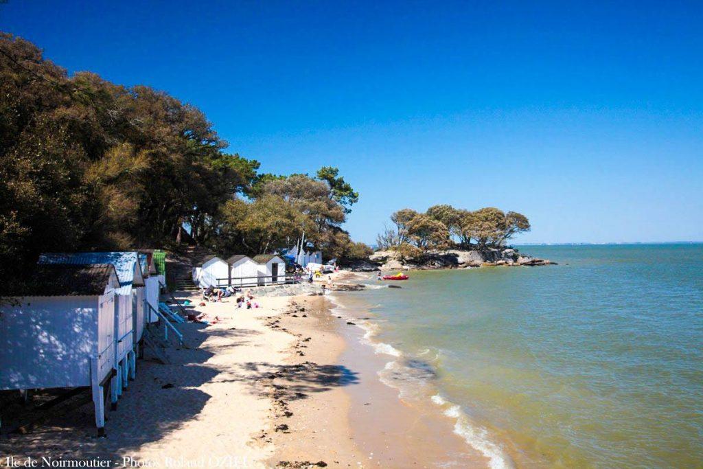 Photo de la plage du Bois de la Chaize à Noirmoutier