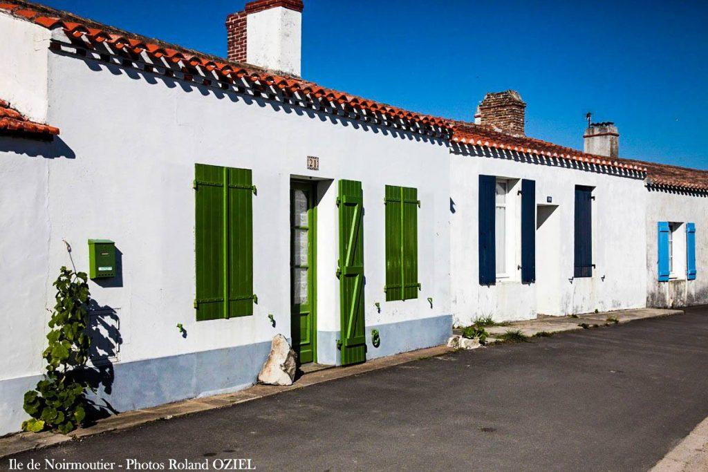 Photo maisons à Noirmoutier proche du camping Côté Plage