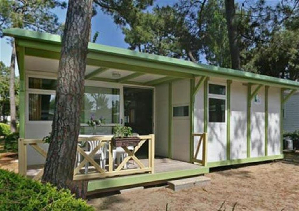 photo camping saint jean de monts vendee chalet vanille