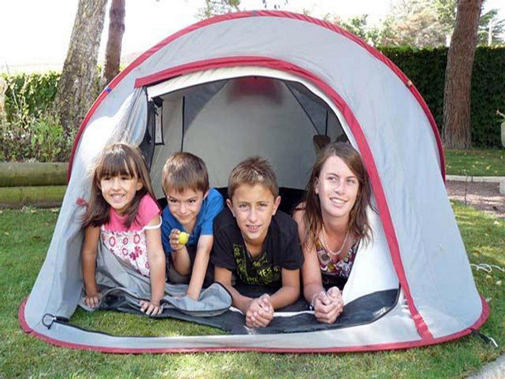 photo camping saint jean de monts vendee emplacements tente