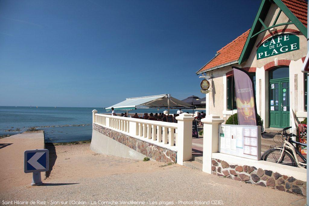 Photo café de la plage à Saint Hilaire de Riez